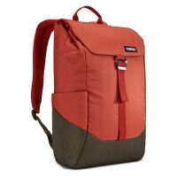 Rucsac urban cu compartiment laptop Thule LITHOS Backpack 16L, Rooibos/Forest Night