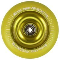 Roata trotineta MetalCore RADICAL 110mm - Yellow / Yellow Fluorescent