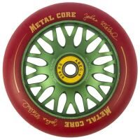 Roata trotineta MetalCore JOHAN 110mm - Red / Green